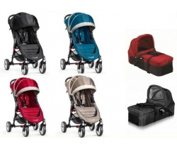 BABY Jogger  WÓZEK Głeboko -Spacerowy CITY MINI SINGLE 4W +Gondola 2w1 -TACKA  BJ