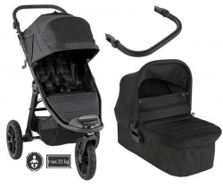Baby Jogger City ELITE 2+Gondola (2w1)- wózek spacerowy/Granite