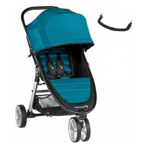 Baby Jogger City Mini 2 - Wózek spacerowy CAPRI+Pałąk/Folia