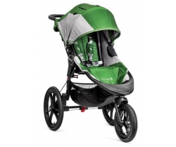 Baby Jogger Summit X3 Green/Grey - wózek spacerowo-biegowy+TACKA
