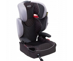 GRACO Fotelik  AFFIX Grey Flannel 15-36kg