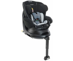 GRACO TURN2REACH FOTELIK OBROTOWY 0-18KG MIDNIGHT/GREY