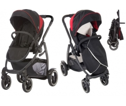 GRACO EVO XT Wózek spacerowy BLACK/RED